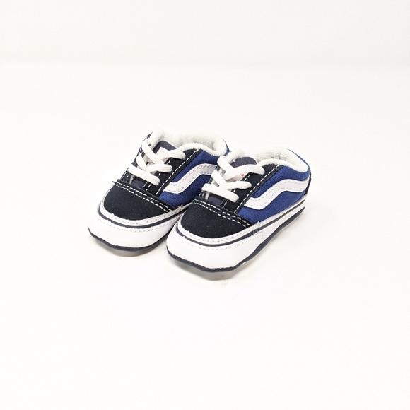 Vans Shoes | Baby Old Skool Bluewhite